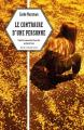 Couverture Le contraire d'une personne Editions Rue de l'échiquier 2019