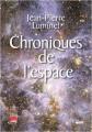 Couverture Chroniques de l'espace  Editions Cherche Midi 2019