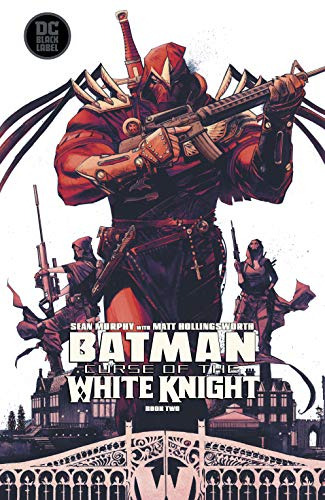Couverture Batman : Curse of the white knight, book 2