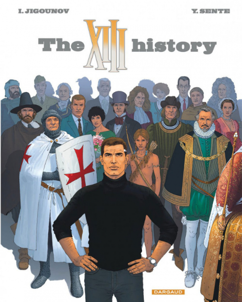 Couverture XIII, tome 25 : The XIII History