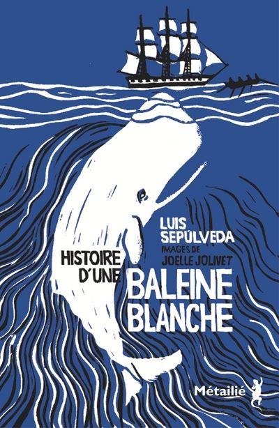 Couverture Histoire d'une baleine blanche
