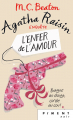 Couverture Agatha Raisin enquête, tome 11 : L'enfer de l'amour Editions France Loisirs (Piment - Noir) 2019