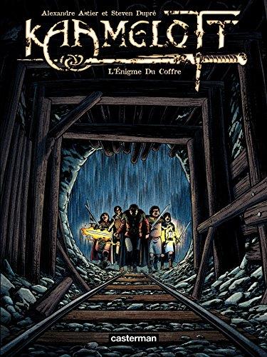 Couverture Kaamelott (BD), tome 3 : L'énigme du coffre