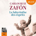 Couverture Le labyrinthe des esprits Editions Audiolib 2018