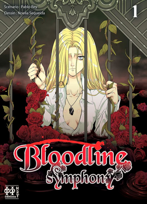 Couverture Bloodline Symphony, tome 1