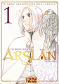 Couverture The Heroic Legend of Arslân, tome 01 Editions 12-21 2016