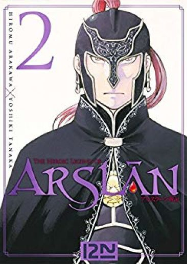 Couverture The Heroic Legend of Arslân, tome 02