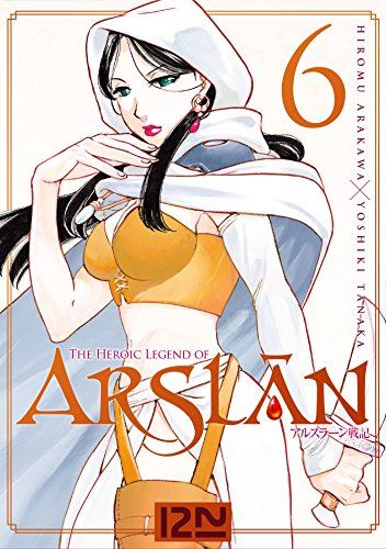 Couverture The Heroic Legend of Arslân, tome 06