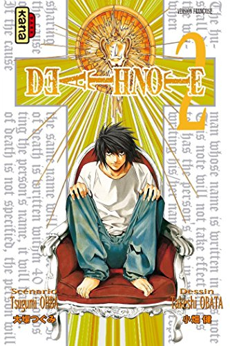 Couverture Death Note, tome 02