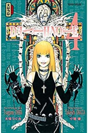 Couverture Death Note, tome 04