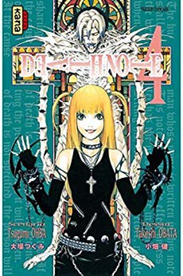 Couverture Death Note, tome 04
