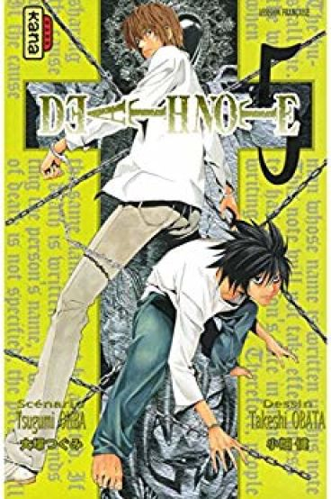 Couverture Death Note, tome 05
