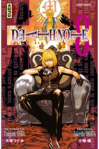 Couverture Death Note, tome 08
