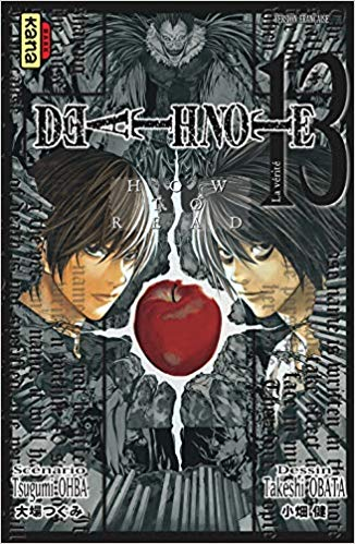 Couverture Death Note, tome 13