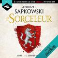 Couverture Sorceleur, tome 1 : Le dernier voeu Editions Audible studios 2019
