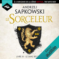 Couverture Sorceleur, tome 3 : Le sang des elfes Editions Audible studios 2019