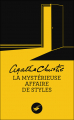 Couverture La Mystérieuse Affaire de Styles Editions Le Masque 2013