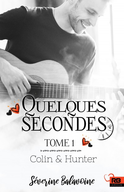 Couverture Colin & Hunter, tome 1 : Quelques secondes