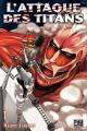 Couverture L'attaque des Titans, tome 01 Editions Pika (Seinen) 2013