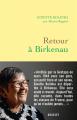 Couverture Retour à Birkenau Editions Grasset 2019