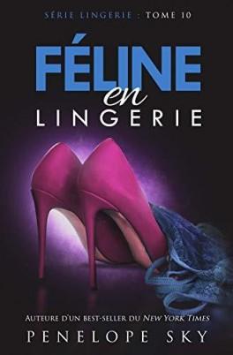 Couverture Série Lingerie, tome 10 : Féline en lingerie
