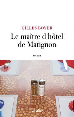Couverture Le maître d'hôtel de Matignon