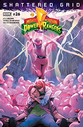 Couverture Mighty Morphin Power Rangers, book 26