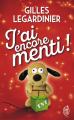 Couverture J'ai encore menti ! Editions J'ai Lu 2019
