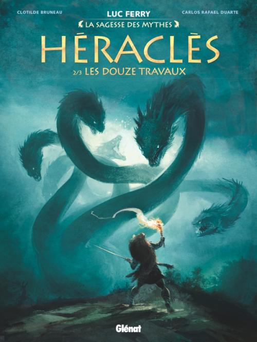 Couverture Héraclès, tome 2 : Les Douze Travaux