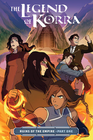Couverture The Legend of Korra: Ruins of the Empire, book 1
