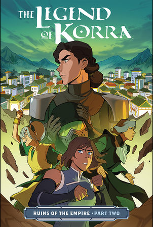 Couverture The Legend of Korra: Ruins of the Empire, book 2