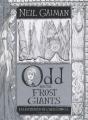 Couverture Odd et les géants de glace Editions Bloomsbury 2016