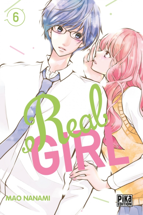 Couverture Real Girl, tome 6