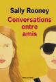 Couverture Conversations entre amis Editions de l'Olivier 2019