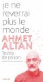 Couverture Je ne reverrai plus le monde Editions Actes Sud 2019
