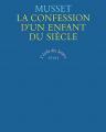 Couverture La Confession d'un enfant du siècle Editions Seuil (L'école des lettres) 1992