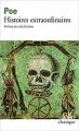 Couverture Histoires extraordinaires Editions Folio  (Classique) 2001