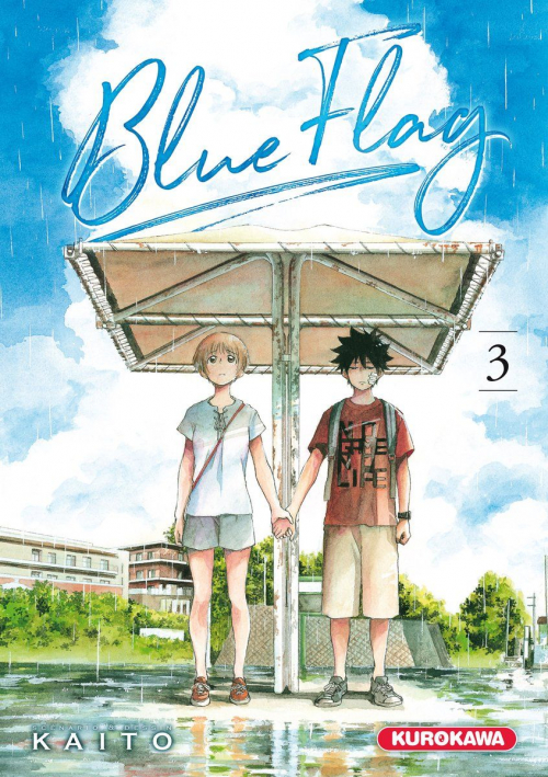 Couverture Blue Flag, tome 03