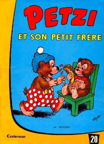 Couverture Petzi (1958-1984), tome 20 : Petzi et son petit frère