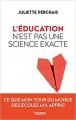 Couverture L'éducation n'est pas une science exacte Editions Kero 2019