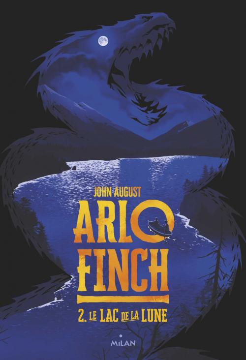 Couverture Arlo Finch, tome 2 : Le lac de la lune