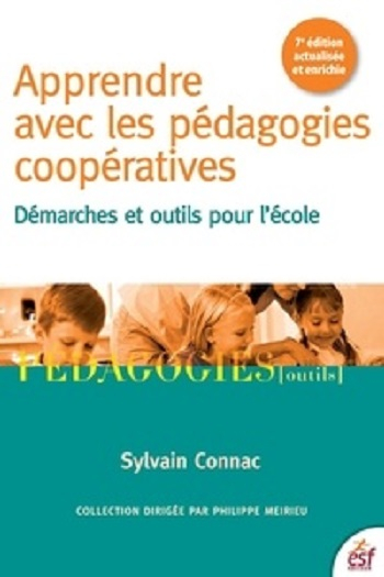 Couverture Apprendre avec les pédagogies coopératives : démarches et outils pour l'école