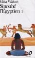 Couverture Sinouhé l'égyptien, tome 1 Editions Folio  1990