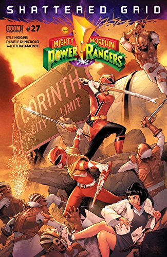 Couverture Mighty Morphin Power Rangers, book 27