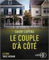 Couverture Le couple d'à côté Editions Audiolib 2017