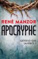 Couverture Apocryphe Editions France Loisirs (Thriller) 2019