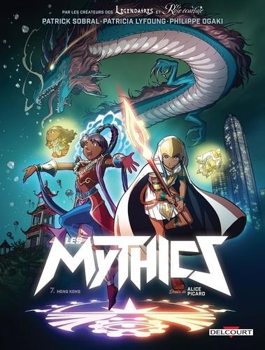 Couverture Les Mythics, tome 7 : Hong Kong