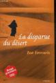 Couverture La disparue du désert Editions France Loisirs 2008
