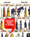 Couverture Histoire dessinée de la France, tome 6 : Chevaliers, moins et paysans : De Cluny à la première croisade Editions La découverte 2019