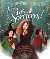 Couverture Harry Potter : Fières d'être sorcières ! - Les filles qui ont marqué l'histoire du Monde des Sorciers Editions Gallimard  (Jeunesse) 2019
